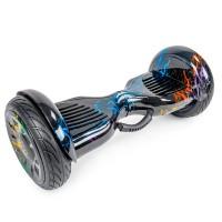 """Гироскутер GT АКВА Premium 10.5"""" Разноцветная молния Tao-Tao"""
